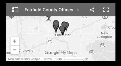Fairfield County Auditor Office, Lancaster, Ohio