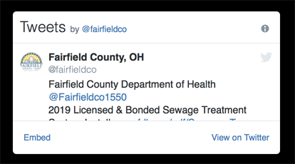 Fairfield County, Ohio Official Website