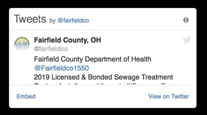Fairfield County, Ohio Official Website